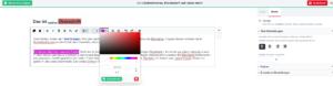 Beispiel: Blockeditor Text